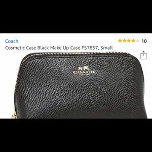 """Coach **Authentic"""" Leather Classic Make-up Bag"""